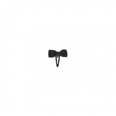 Sort sløjfe hårspænde - 8 cm - Bow's by Stær