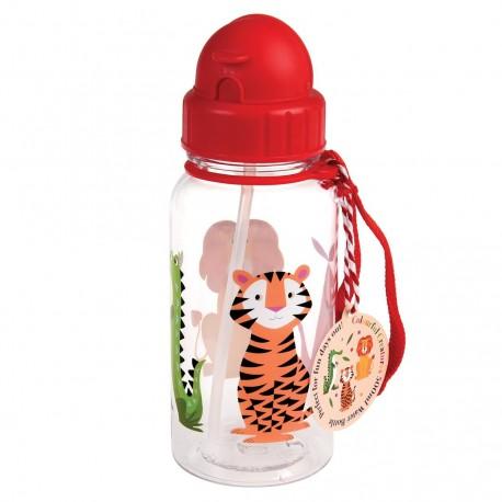Søde dyr - Drikkeflaske med sugerør - Rex London