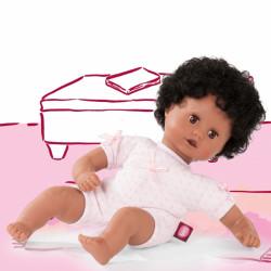 Muffin babypige - Mørk dukke - Götz
