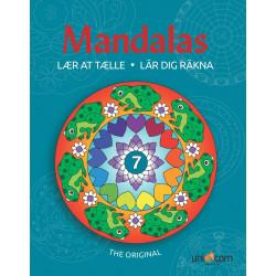 Lær at tælle - Malebog - Mandalas
