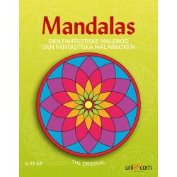 Den fantastiske malebog 6-99 år - Mandalas