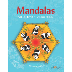 Vilde dyr malebog - Mandalas