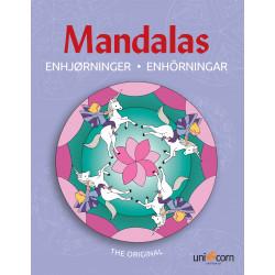 Enhjørninger malebog - Mandalas