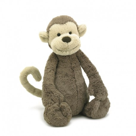Jellycat Bashful bamse - Abe - Stor