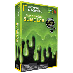 Slime lab - Glow in the dark - National Geographic