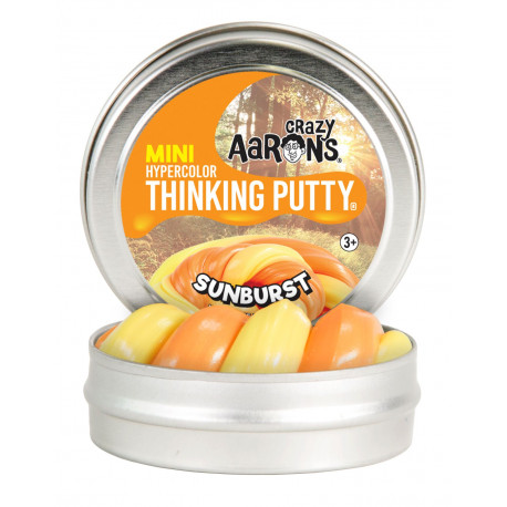 SUNBURST - Mini Hypercolor Thinking Putty slim - Crazy Aarons