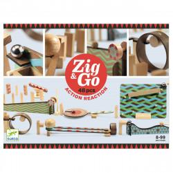 Zig & Go kuglebane - 48 dele - Djeco
