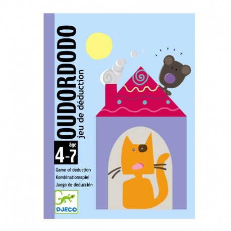Oudordodo (Hvor sover bjørnen?) - Kortspil - Djeco