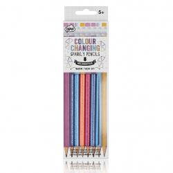 Holographic Colour Changing-  8 blyanter med farveskift - npw London