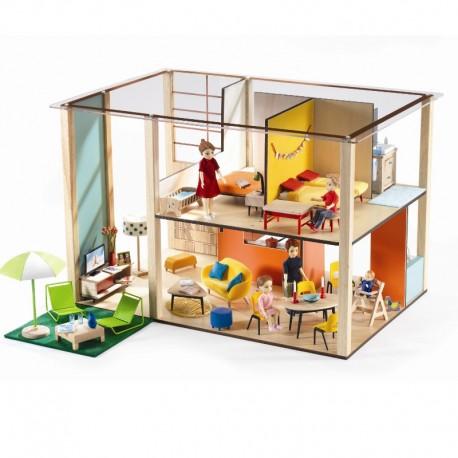 Djeco Petit Home - Dukkehus - Stort