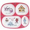 4-delt tallerken - Pigelegetøj - La Chaise Longue
