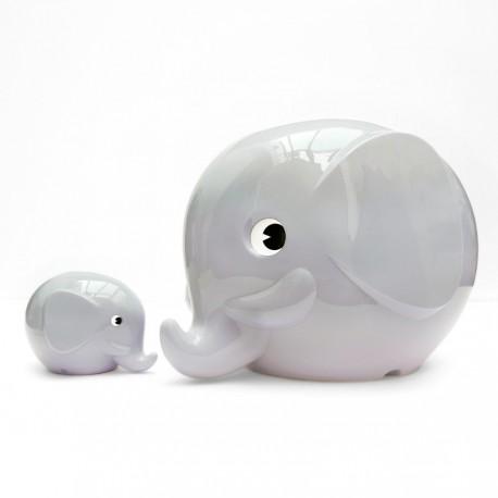 Norsu grå elefant sparebøsse - Maxi