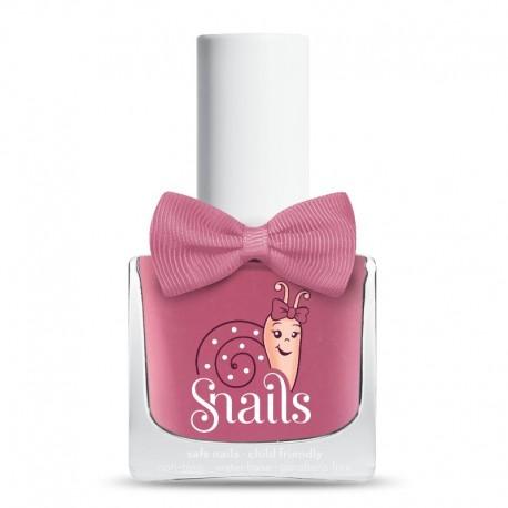Snails Pink Bang - Neglelak til børn