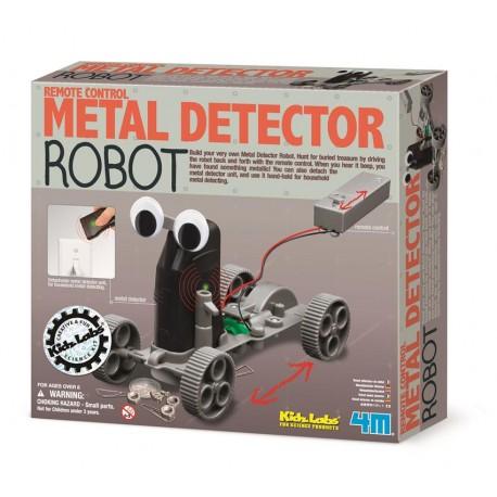 Byg-selv metaldetektor robot - KidzLabs