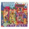 Fe slottet - Djeco silhuetpuslespil