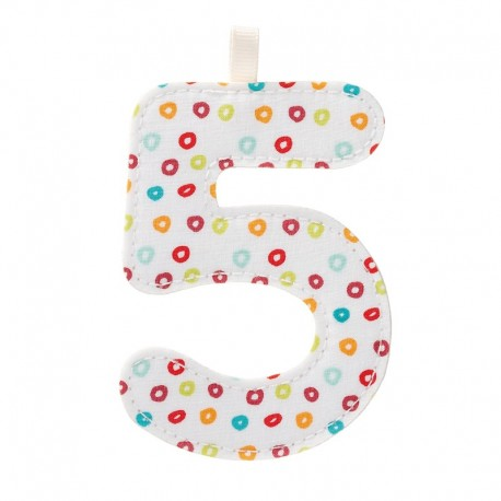 5 tal - Stoftal til ophæng - Lilliputiens